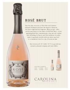 Rose Brut Carolina Sell Sheet