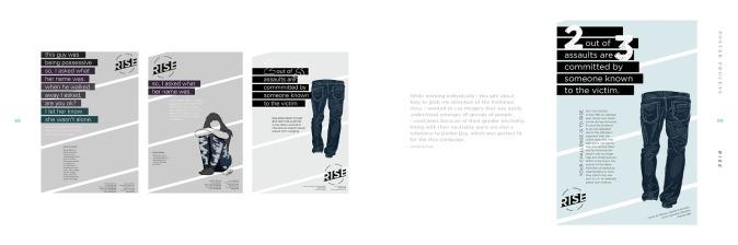 RISE process book spread #11