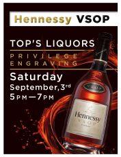 Hennessy VSOP flyer 8.12.16
