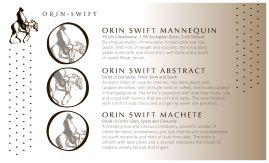 JIN'S orin swift tasting mat 8.5x14b