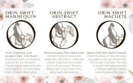 JIN'S orin swift tasting mat 8x5b